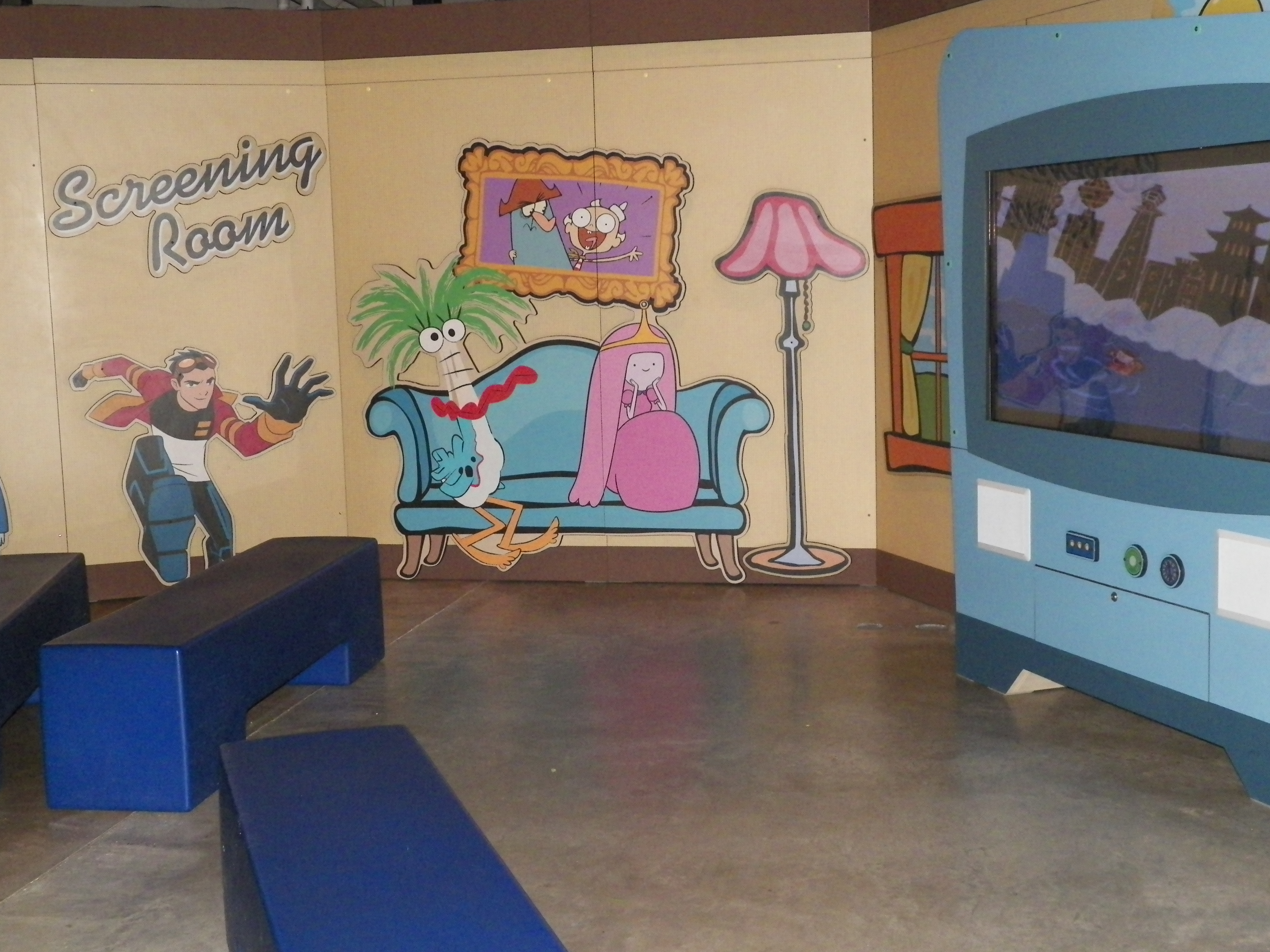Exhibition Booth Animation : Animation exhibit pics part comicpop library