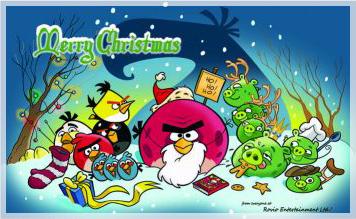 Angry Birds Christmas Video – comicpop library