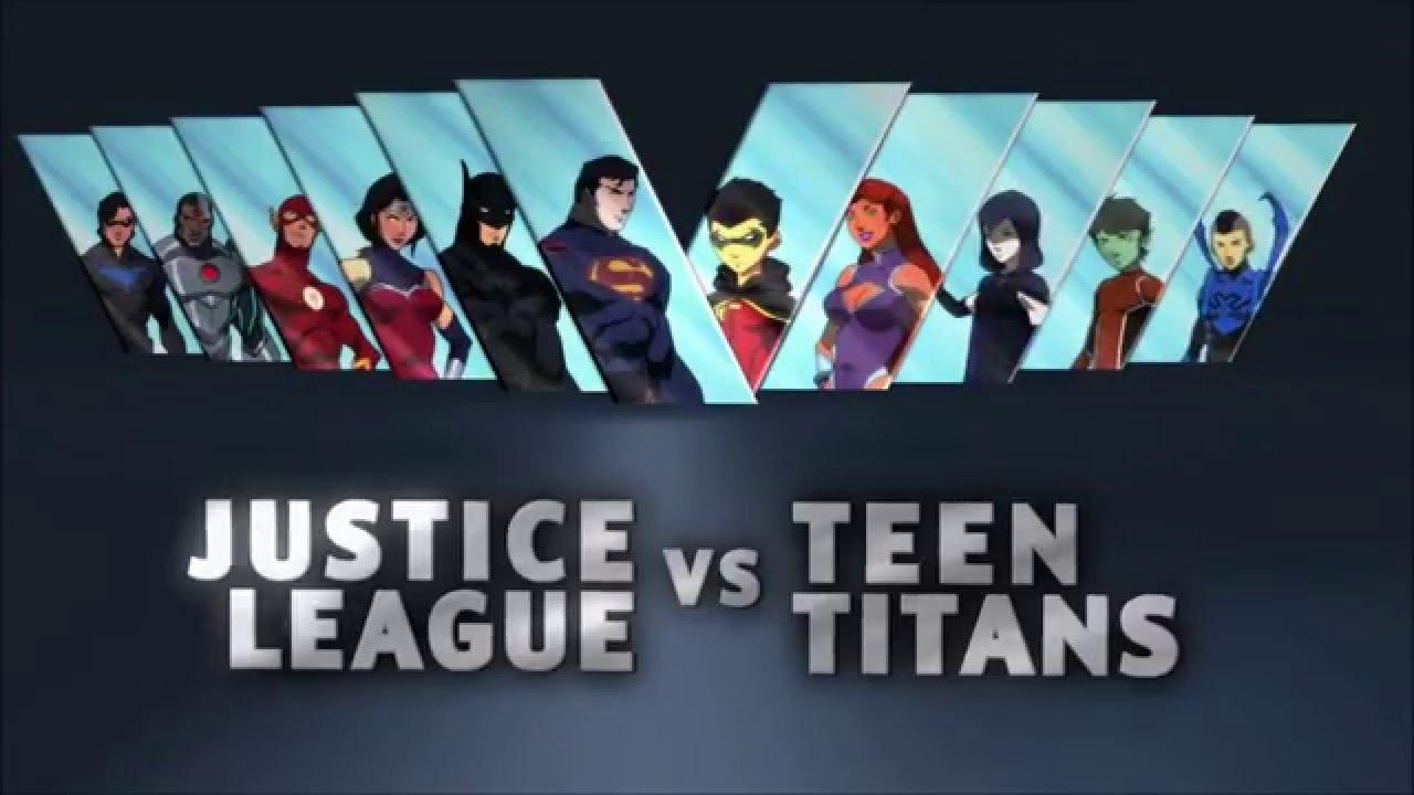 Teen Titans Vs Justice League